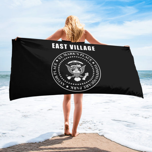 East Village Seal White Towel